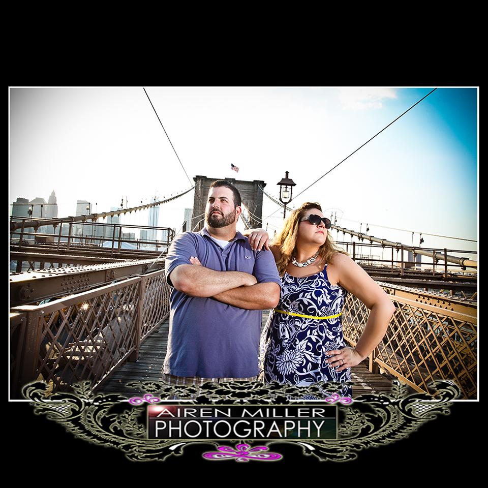 BROOKLYN BRIDGE ENGAGEMENT SESSION PHOTOS PICS